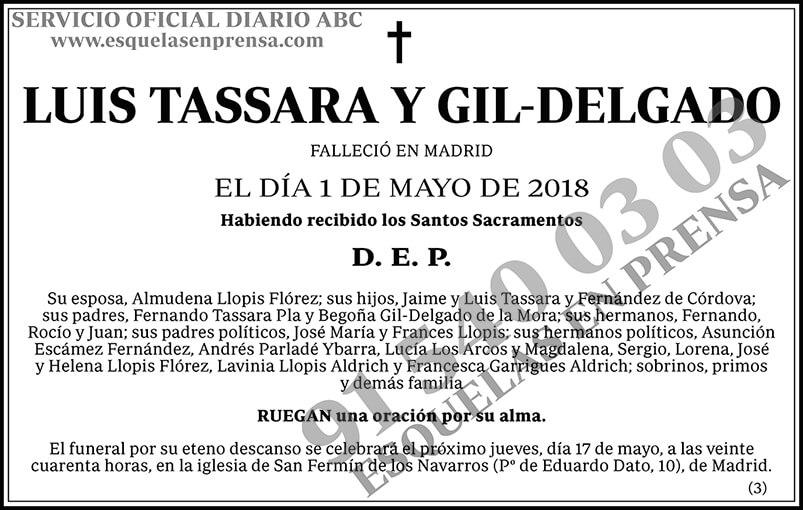 Luis Tassara y Gil-Delgado